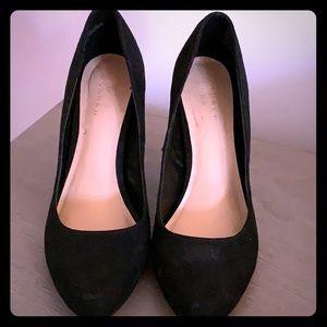 Lauren Conrad black heels size 8